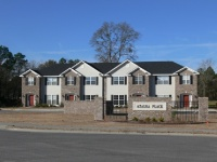 Townhomes in the Azalea Street Redevelopment Project
